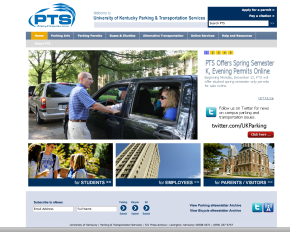 The user-friendly PTS website
