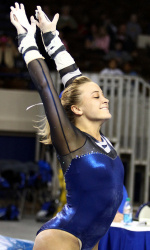 Storey Morris, UK Gymnast, preformed well last season. Courtesy of ukathletics.com.