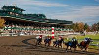 Keeneland hosts Breakfast with the Works trackside where you can watch horses train for the races.