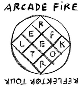 arcadefire_reflectors_logo