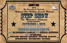 Universtity of Kentucky Step Show Poster