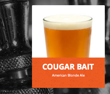 Country Boy Cougar Bait brew