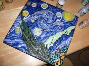 van gough cap pinterest