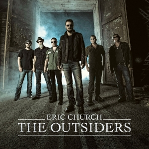 """The Outsiders,"" Eric Church (photo from albumartexchange.com)"